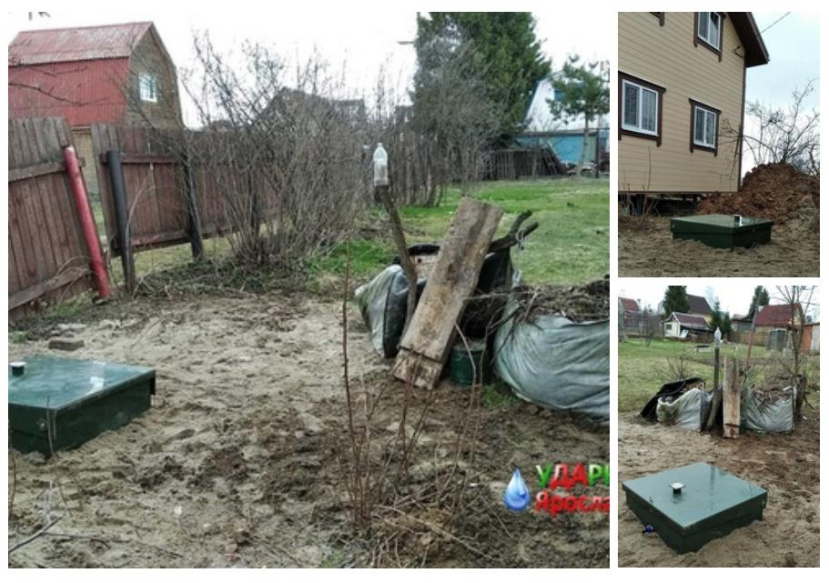 Монтаж септиков в ярославской области