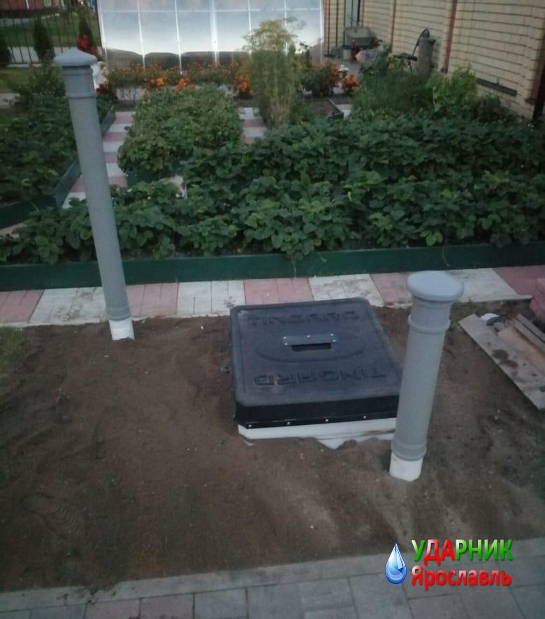 установка погреба