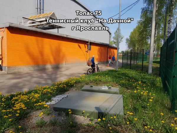 """Топас 75. Теннисный клуб """"На Дачной"""" г Ярославль."""